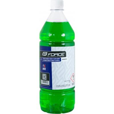 čistič FORCE E-BIKE k doplnění - 1l - zelený