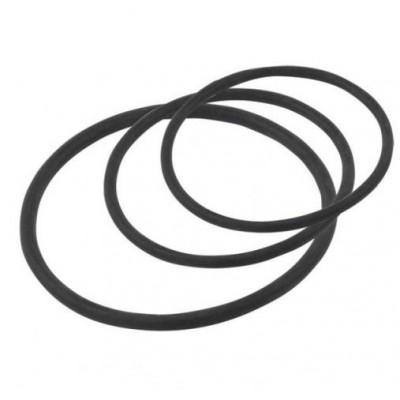 gumičky SIGMA černé sada 3ks