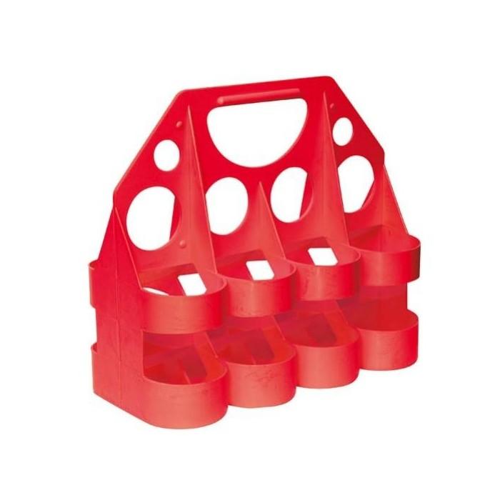 nosič na lahve Tempish červený na 8ks