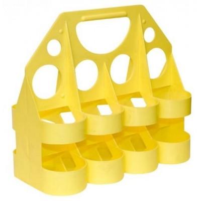 nosič na lahve Tempish žlutý na 8ks