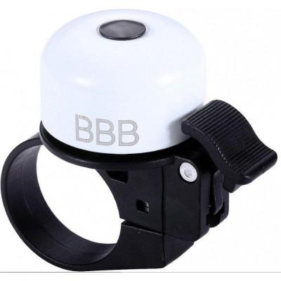zvonek BBB Loud & Clear bílý