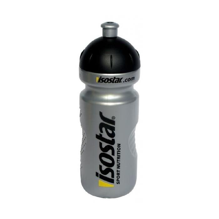 lahev ISOSTAR 650ml push pull stříbrná