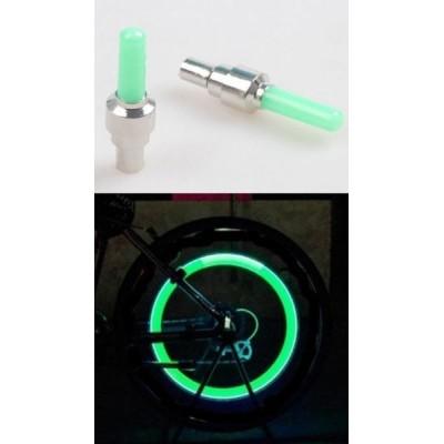 čepička ventilku LED zelená