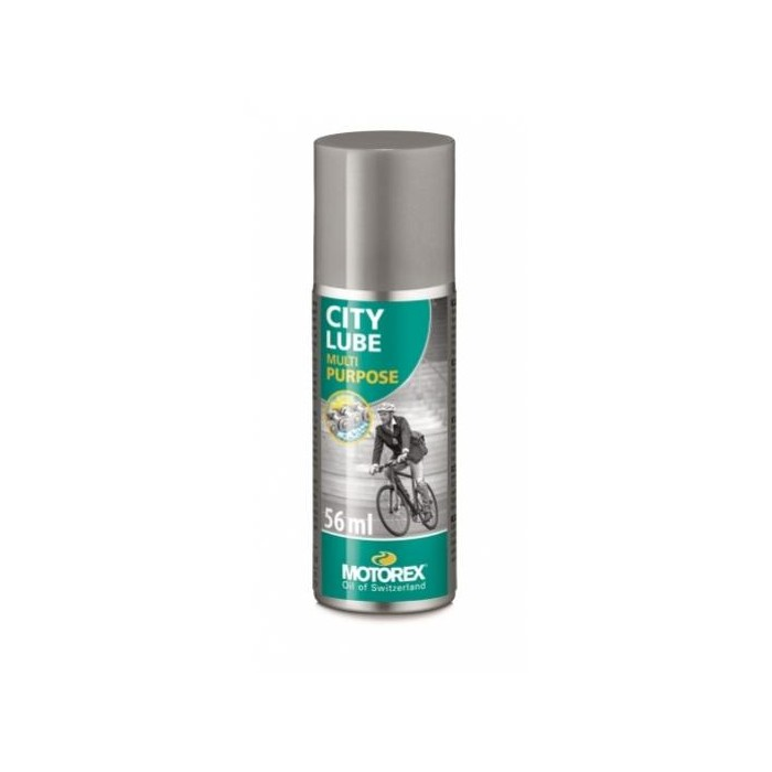 olej MOTOREX City Lube 56ml spray plnící