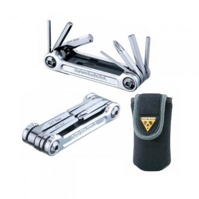 klíče multi TOPEAK Mini 9 Pro stříbrné