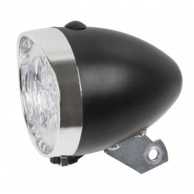osvětlení přední 3 LED bateriové černé