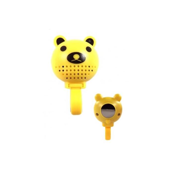zrcátko - zvonek Medvídek 2LED