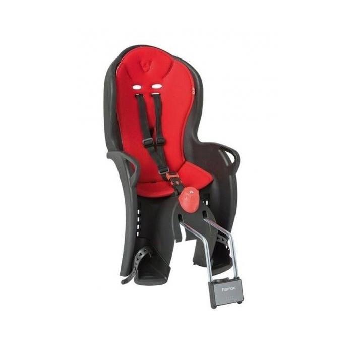 sedačka HAMAX SLEEPY černo/červená