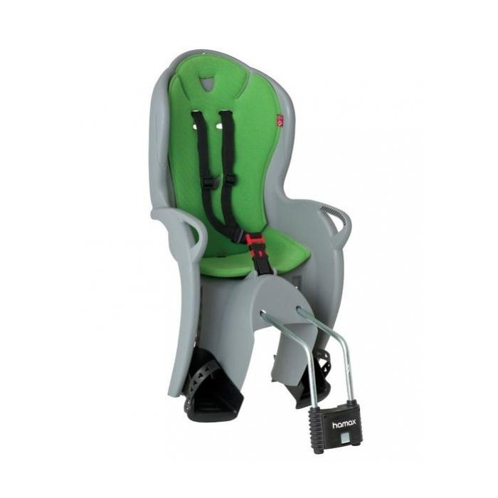 sedačka HAMAX KISS šedo/zelená