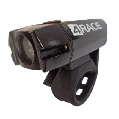 osvětlení přední 4RACE LF06 CREE XPG R5 LED 400LM USB černé