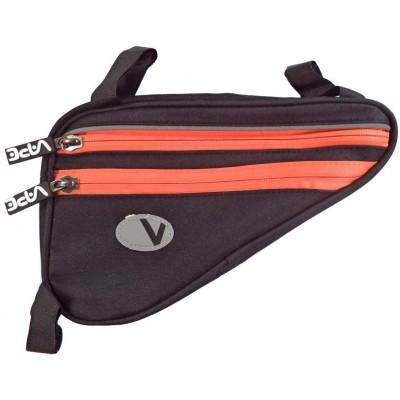brašna Vape rámová 4 kapsy neon oranžový zip