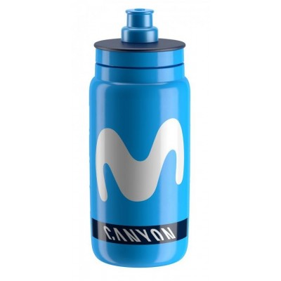 lahev ELITE FLY TEAM MOVISTAR modrá 550 ml