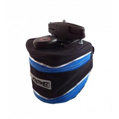 brašna Vape podsedlová TWIST LED žralok modrý zip