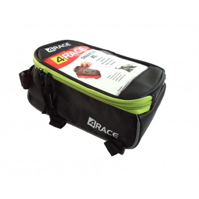 """brašna 4RACE přední na mobil XL 5,5"""" černo-zelená"""