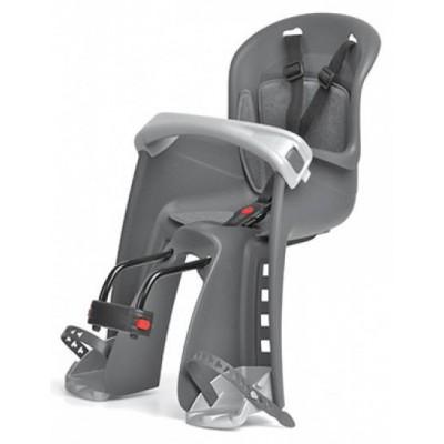 sedačka Polisport Bilby Junior přední s předním úchytem šedo-stříbrná