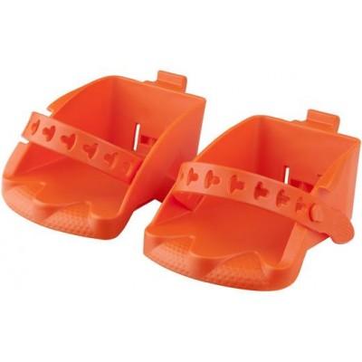 stupačky sedačky Polisport Bilbi Junior oranžové