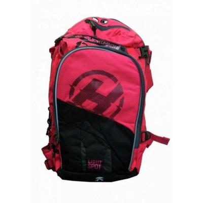 batoh HAVEN LUMINITE II 18l černo/růžový bez rezervoáru