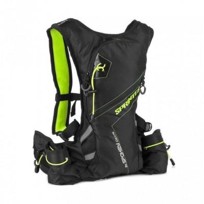 batoh cyklo Spokey SPRINTER zelený 5L