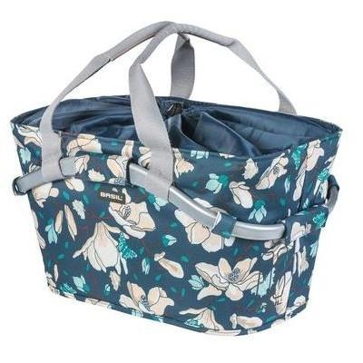 brašna BASIL Carry All Magnolia na nosič MIK systém modrá