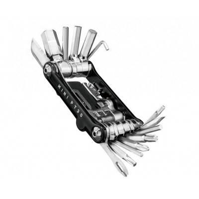klíče multi TOPEAK PT30 mini černé