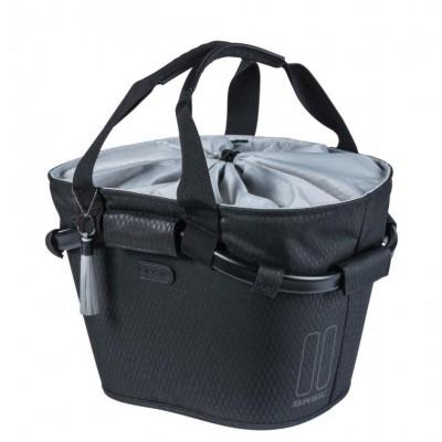 brašna BASIL Carry Classic Carry na řidítka černo/šedá 15L