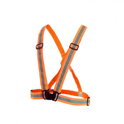 šle reflexní elastické pro dospělé oranžové