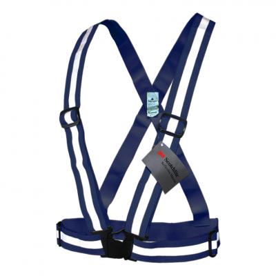 šle reflexní elastické pro dospělé modré