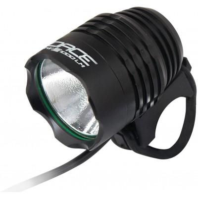 Světlo přední FORCE GLOW-2 1000LM USB, černé