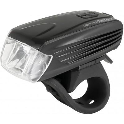 Světlo přední FORCE STREAM 400LM USB, černé