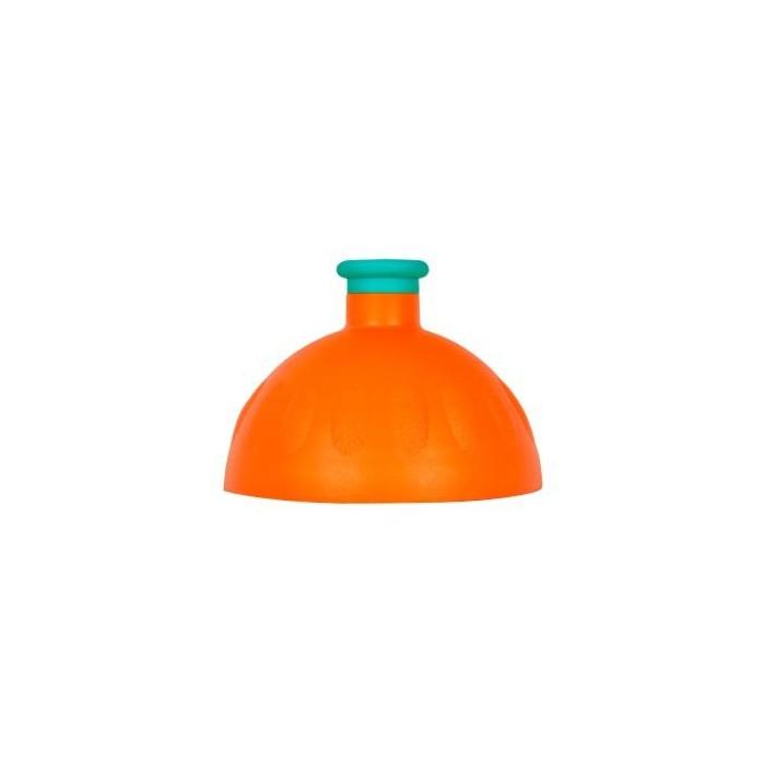 víčko na lahev R&B oranžovo/tyrkysové