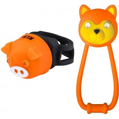 KELLYS Osvětlení set KLS ANIMAL, orange
