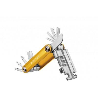klíče multi TOPEAK P20 mini zlaté