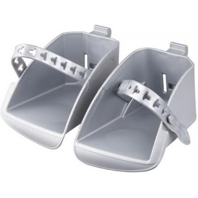 stupačky sedačky Polisport Koolah a Boodie stříbrné