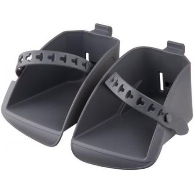 stupačky sedačky Polisport Koolah a Boodie tmavě šedé