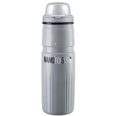 lahev ELITE Nanofly 21´ šedá s krytkou termo 500 ml
