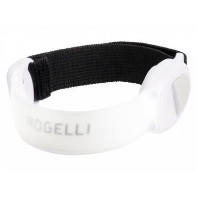 páska bezpečnostní Rogelli  LED ARMBAND transparentní