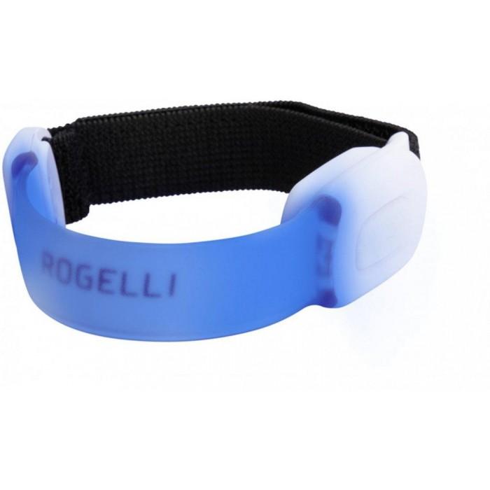 páska bezpečnostní Rogelli  LED ARMBAND TRIO multicolor