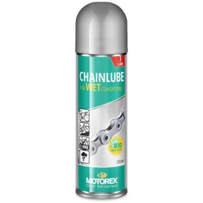olej MOTOREX Chain Lube Wet spray 300ml