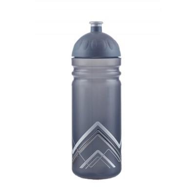 Zdravá lahev BIKE Hory šedá 0,7l