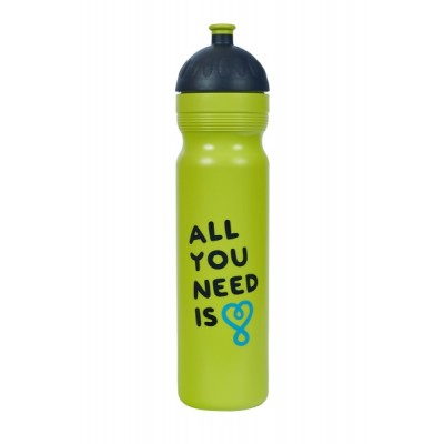 Zdravá lahev UAX All you need - limetka 1,0l