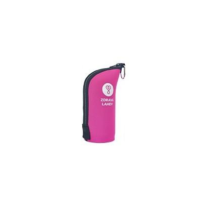 Termoobal CABRIO reflex 0,5l růžový