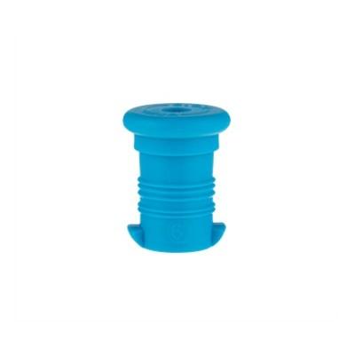 Zdravá lahev -  zátka modrá fluo