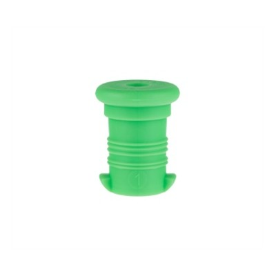 Zdravá lahev - zátka zelená fluo