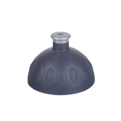 Zdravá lahev - Víčko antracit zátka stříbrná