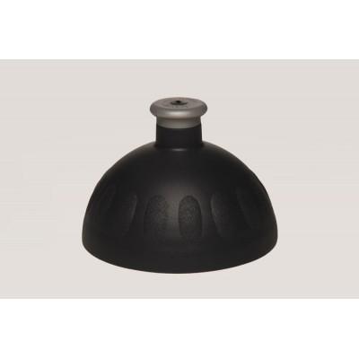 Zdravá lahev -černé/zátka stříbrná