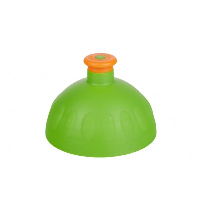 Zdravá lahev -Víčko zelené/zátka oranžová