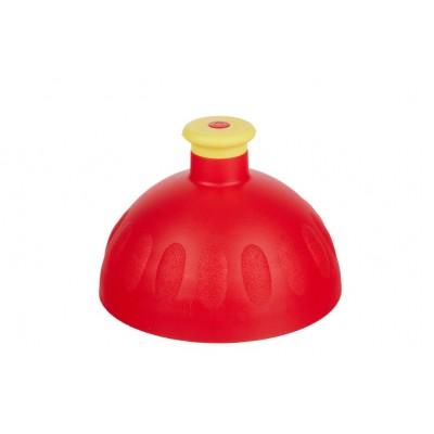 Zdravá lahev Víčko červené/zátka žlutá
