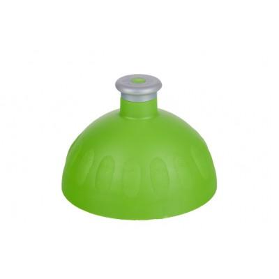 Zdravá lahev Víčko  zelené/zátka stříbrná