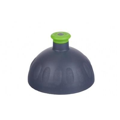 Zdravá lahev Víčko antracit/zátka zelená