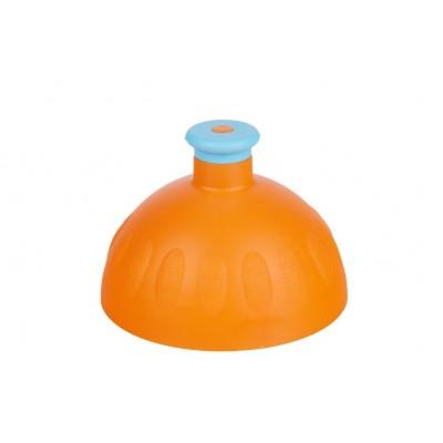 Zdravá lahev Víčko oranžové/zátka modrá
